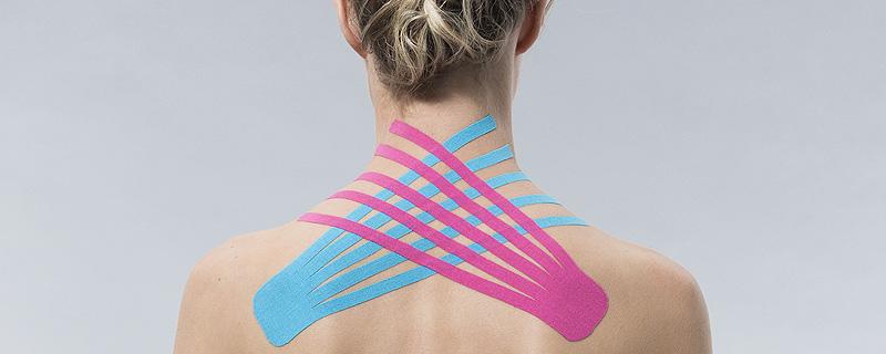 Elastische Bänder unterstützen körpereigene Heilungsprozesse. Schmerzlinderung und Schmerzfreiheit. Neuraltherapie Alternativmedizin